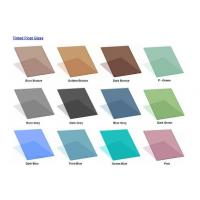 Buy cheap tinted float glass product