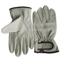 Quality Quality Grain Sheep Skin Leather With Good Price Truck Leather Driver Working Gloves for sale
