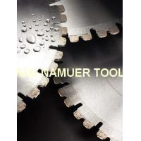 Quality Brazed/Laser welded cured concrete wall saw for sale