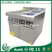 China Induction range popular restaruant kitchen induction cooker 4 burner on sale