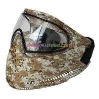 Quality Protective Mask Tan Anti Fog Paintball Mask Archery Tag Mask for sale