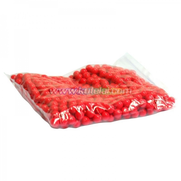 China 0.50 cal Red 4000 pcs/box 0.50 Inch paintball made with Gelatin&PEG