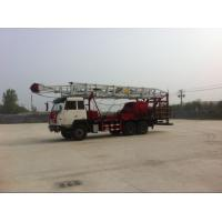 Buy cheap Truck Mounted 1000m 450HP Mobile Drill Rig Petroleum Drilling Rig product