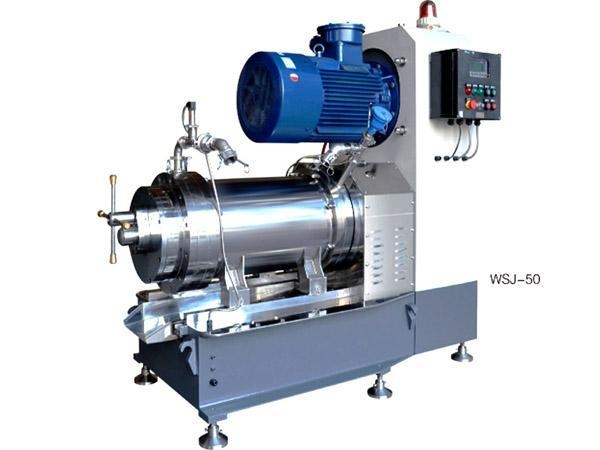 Buy WSJ-50L New Horizontal internal-cooling full function bead mill at wholesale prices