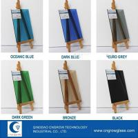 China Tinted Glass Tinted Float Glass on sale