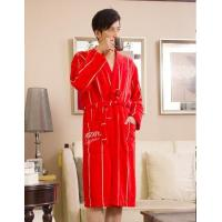 Buy cheap Products name: JACQUARD TERRY VELOUR BATHROBE product