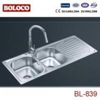 Quality welding kitchen sink BL-839 for sale