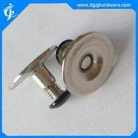 Stainless steel book binding threaded post screw with different head types