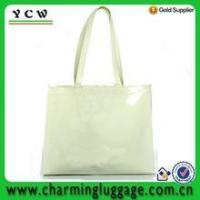 Quality PVC shopping bag silicone shoulder bag for woman for sale