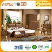 Quality 6A005 mdf modern black french style bedroom furniture for sale