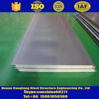 Quality Rock wool/Glass wool/PU/Sandwich panels PU sandwich insulation panel for wall and roof for sale