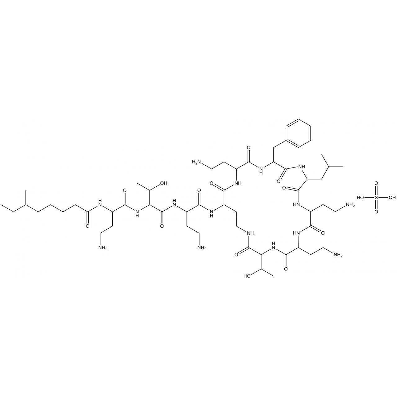 Buy cheap APIs Polymyxin B sulfate product