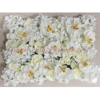 China LFB190wedding stage decoration rose and hydrangea wall artificial flowers wholesale on sale
