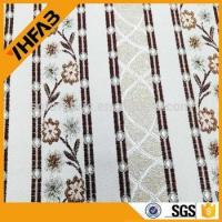 Quality 100% polyester jacquard fabric for sofa and curtain for sale