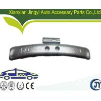 Buy cheap Zinc coated Fe clip on wheel weight for alloy rim product