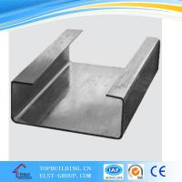 Quality Galvanized Metal Frame C Cold Rolled Channel for sale