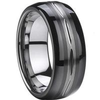 China COI Tungsten Carbide Wedding Band Ring - TG856A on sale