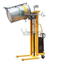 Quality Weighing Drum Carrier Semi Electric Drum Lifter Cum Tilter YL520A-1 for sale