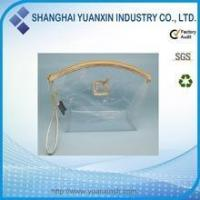 Quality Custom Transparent Clear Zipper PVC Cosmetic Bag for sale