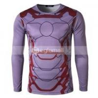 Quality Men Casual Sport T shirts Costume Compression Layer for sale