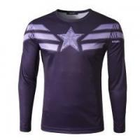 Quality Mens Casual Long Sleeve T-shirt Compression Sports Blouse for sale