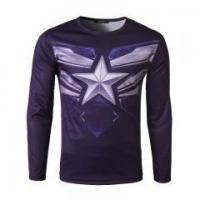 Quality Mens Compression Soft Muscle Long Sleeve running T shirt for sale