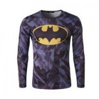 Quality Mens Slim Fit Costume T-shirts Long Sleeve Compression for sale