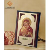 China Virgin Mary with Christ Jesus Religious Icons Framed on sale