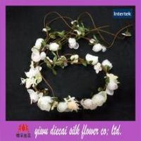 Quality Popular boho style artificial flower wreath for sale