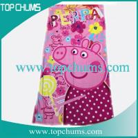 Quality peppa pig beach towel bt0124 for sale