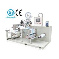 China CD-100-2 Automatic Film Punching and Labelling Machine for Wet Wipe Packaging on sale