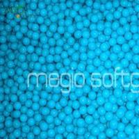 Quality Safflower seed oil soft capsule .68 caliber Blue shell /Blue fill Field Paintballs 2000 Rounds for sale