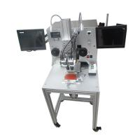 Vertical press flex cable machine