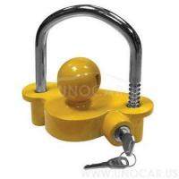 China New Coupler Lock Hitch Lock Trailer coupler lock on sale