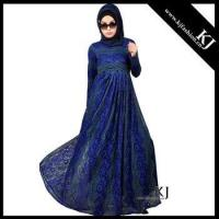 China 2016 dubai Kyle and Jane muslim women lace dress clothing with full linning on sale