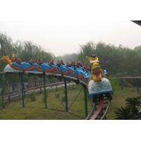 Quality Outdoor playground sliding dragon roller coaster rides hot sale for sale