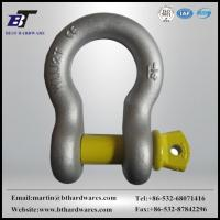 Quality SHACKLE HDG US type forged bow shackle for sale