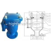 Single large orifice air release valve DN40-DN300