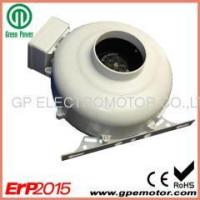 China Centrifugal Fan 230V AC 10 inch Inline exhaust fan with bracket for bathrooms ventilation on sale