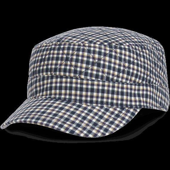 China Quilted Cadet Cap