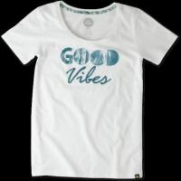 Buy cheap Women's Good Vibes Trees Creamy Scoop Tee from wholesalers