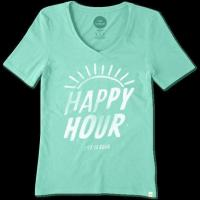 Buy cheap Women's Happy Hour Crossover Tee from wholesalers