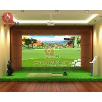 Quality 3D Indoor Golf Simulator Game Machine Professional for sale