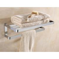 Towel Shelf Brass And SS Towel Shelf With Bar