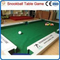 Quality 2016 new game snooker ball table,billiard soccer ball game for sale