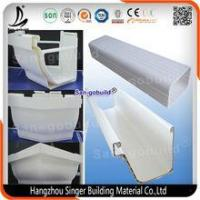 China Wholesale Pvc Rain Gutter Fittings, PVC Roofing Gutter and Downspout with Low Price on sale