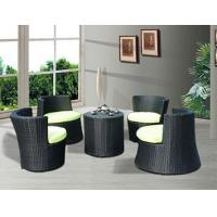 Quality Four Seat Rattan Coffee Set for sale