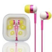 Quality earphone factory sale plastic box colorful promotion gift earphone for sale
