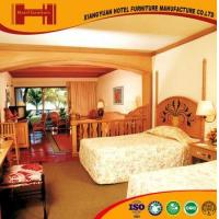 Quality OEM outsourcing Standard Room solid wood mirrored model hotel furniture bedroom for sale
