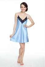 Buy Nightwear sex satin nightgown at wholesale prices